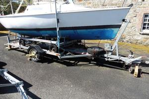 MICRO PUPPETEER, LIFTING KEEL TRAILER SAILER, EXCELLENT COMBI TRAILER ONLY £