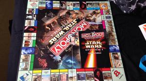 Star Wars monopoly - episode 1, in great condition