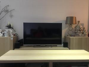 TV table, side tables and coffee table