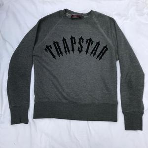 Trapstar grey sweatshirt jumper size small