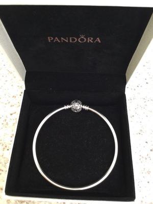 Brand new, limited edition, Pandora celebration bangle. 19cm.Would make a lovely gift. £25
