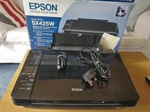 Epson Stylus SX425W Colour Inkjet Printer/Scanner/Copier (All-In-One, Individual Ink Tech & Wi-Fi)