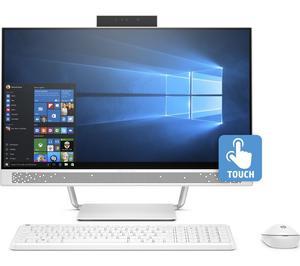 "HP 24-a207na AiO PC 24"" Touchscreen Quad Core iT 8GB"