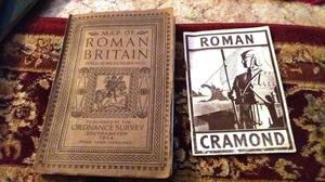 Map of Roman Britain 1st Edition and Roman Cramond Book
