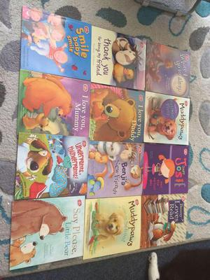 Set of 12 chad valley books