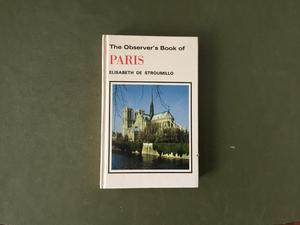The observer book of Paris first edition  hardback VGC