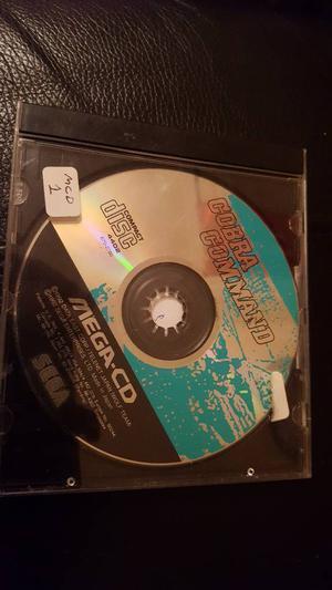 Cobra command for mega CD