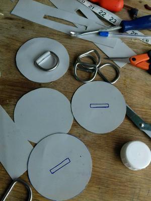Inflatable boat puncture repair re-glue RIB SIB Dinghy Tender