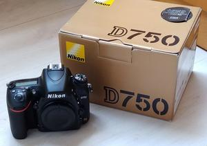 Nikon D750 body MINT (Shutter count only: ) boxed £995