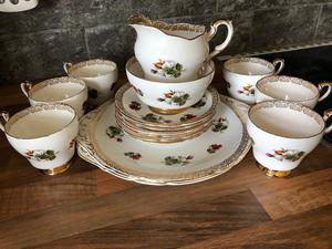 Vintage Paragon Bone China Tea Set