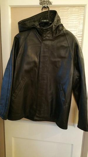 HENRI LLOYD MENS LEATHER JACKET