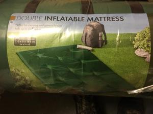 New Double Self Inflating Mat Camping/Travel Mattress