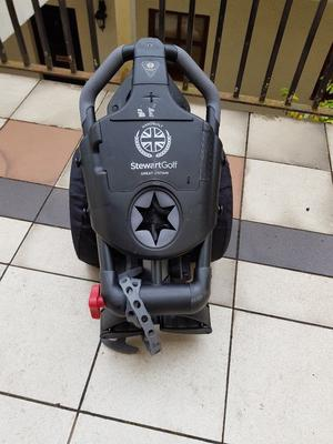 STEWART R1-S PUSH TROLLEY complete with Hedgehog wheel set and wheel cover