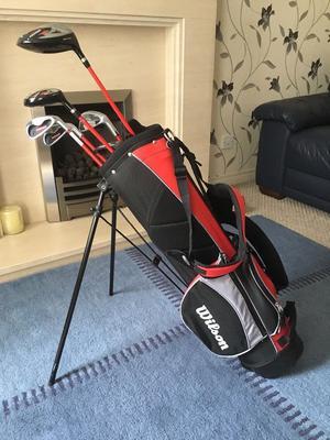 Wilson Prostaff Junior Golf Club set complete with bag