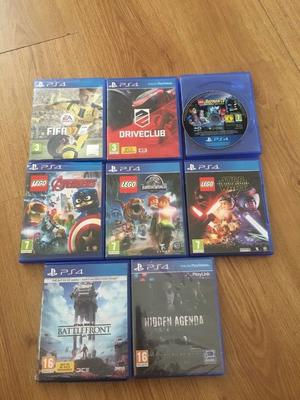 8x PS4 Games Brand New & Used: ALL FOR £40 FREE POSTAGE! Playstation 4