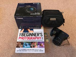 Canon PowerShot SX540HS Digital Camera Package