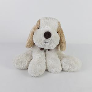 MARKS AND SPENCER M&S PUPPY DOG SOFT TOY WITH BROWN BONE