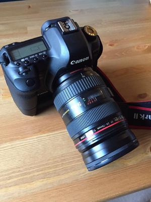 Canon 5d Mark II low shutter count Body ONLY + battery grip