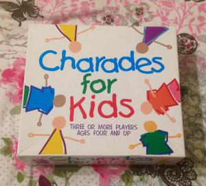Paul Lamond Charades For Kids Children's Picture Game. Complete And VGC.
