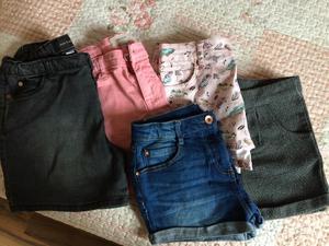 5 pairs of girls shorts £15