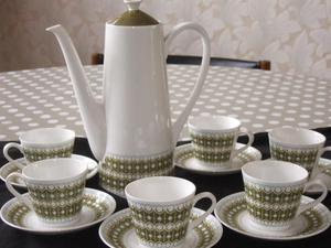 Bone china Coffee set