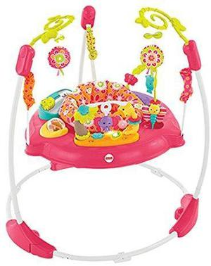 Fisher price pink petals jumperoo