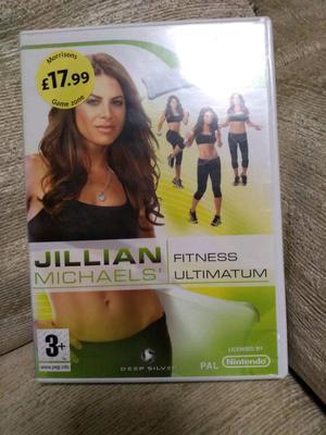 Jillian Michaels Fitness Ultimatum -Wii