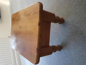 Pine coffee table