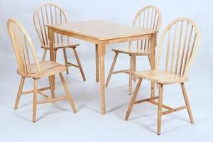 Sutton Wooden Table and Chairs