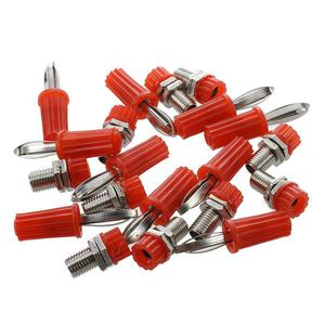 10 Pair Binding Post 4mm Banana Plug Socket Connector Head
