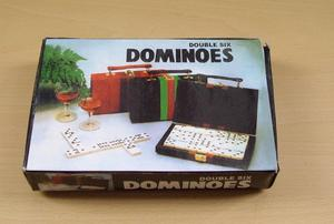 Dominoes Set. Brand New and Sealed with Case and Box.