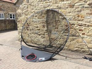 Golf Practice Net - POP up style 2.5m wide x 2m in height