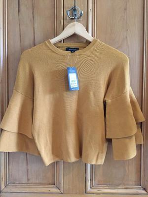 New Look Mustard Jumper - Brand New with Tags - Size 10