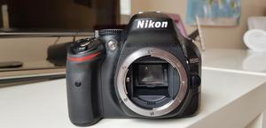 Nikon D body and remote shutter