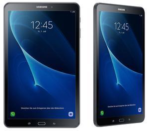 """SAMSUNG GALAXY TAB A SM-T"""" BLACK WIFI + 4G LTE 16GB"""