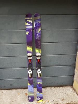 Salomon Qcm fitted with Marker Baron bindings