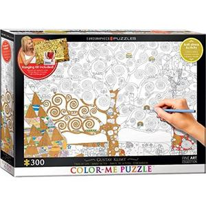 * Eurographics Puzzle 300pc -colour-me - Tree Of Life -