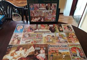 "Falcon de luxe  piece jigsaw puzzle "" Nostalgic Brands """