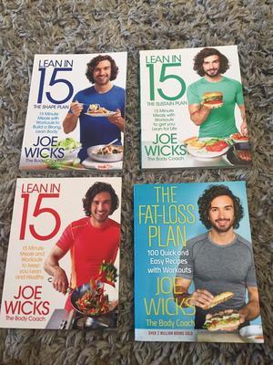 Joe Wicks lean in 15 recipe books