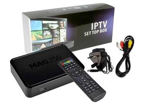 Mag 250 Box with 12 month Premium GIFT,FHD/HD