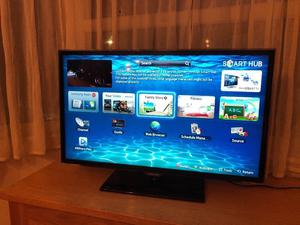 "Samsung 32"" Full hd smart led tv.ETHERNET CONNECTION.Excellent condition.£150 NO OFFERS.CAN DELIVER"