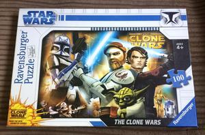 Star Wars The Clone Wars 100 pc Jigsaw Puzzle Ravensburger