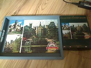 """WENTWORTH WOODEN PUZZLE """"ALTON TOWERS"""" 250 PIECES"""