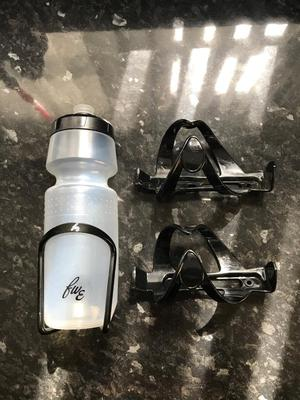 Alloy water bottle holder with bottle brand new