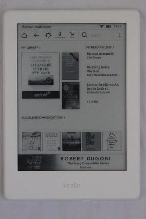 "Amazon Kindle (8th Generation) 6"" 4GB Bluetooth Audiobook"