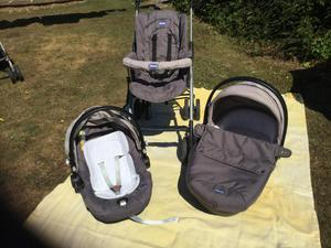Chicco Trio Enjoy Travel System Manhattan Posot Class