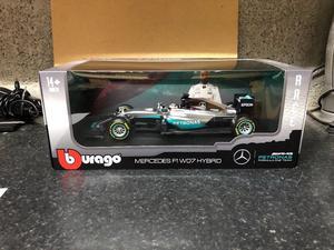 Lewis Hamilton Mercedes AMG F1 Racing Car, 1.18 Diecast