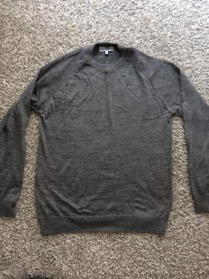 NEXT new grey mens jumper size medium ! Bargain !