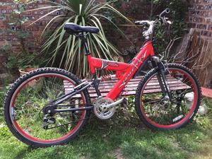 Raleigh Max 21 Speed Full Suspension Mountain Bike