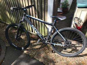 "Carrera Vengeance Mens MTB Mountain Bike Alloy Frame 27.5"" Inch Wheels Black"